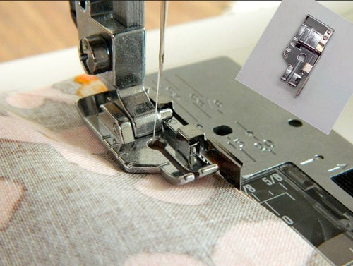 Presser Foot - 1/4 inch patchwork, quilting foot with guide groove
