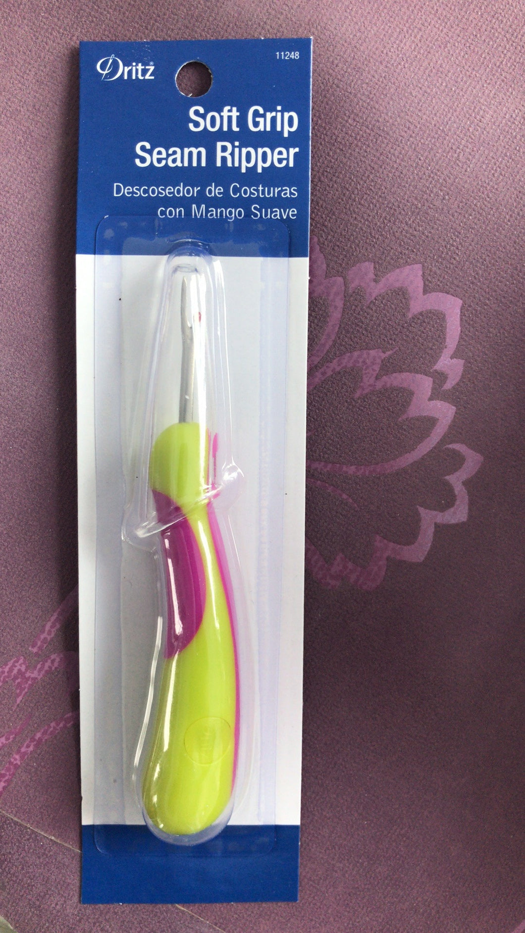 Dritz seam ripper soft grip