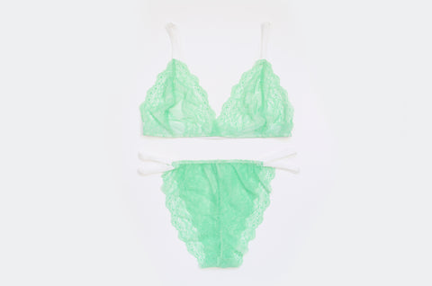'Sour Apple' Mini Lace Set