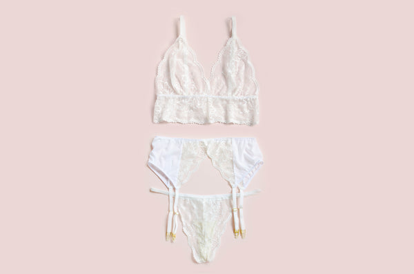Limited Edition: Angel Lace Set