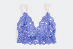Periwinkle Lace Bralet