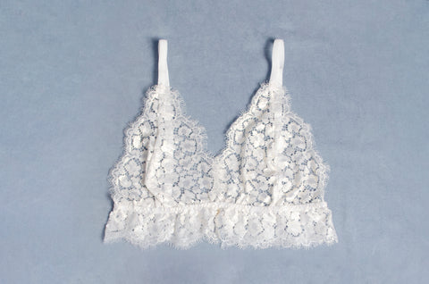 North Star Eyelash Lace Bra