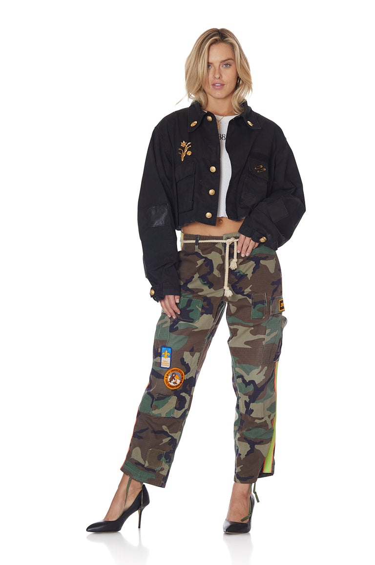 Twilight Camo Jacket with Pins