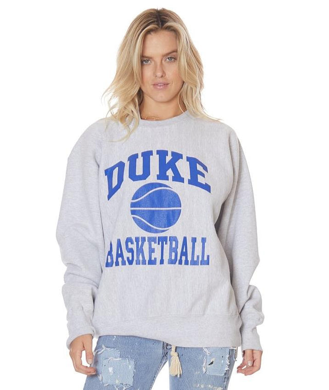 Vintage Collegiate Basketball Boyfriend Sweater