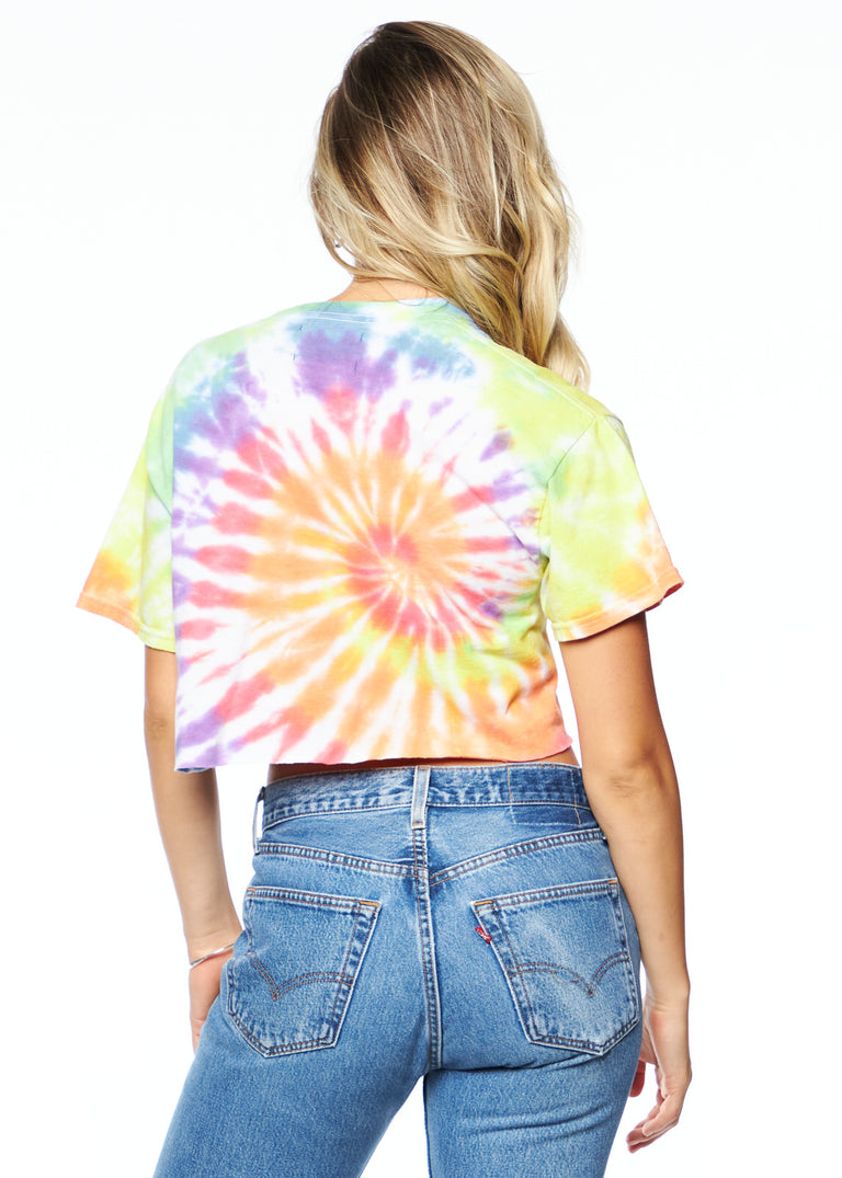Tie Dye Safety Pin Tee