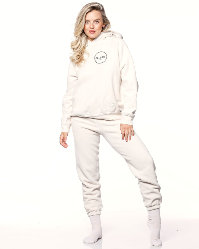 """RILEY"" Ivory Sweatpants"