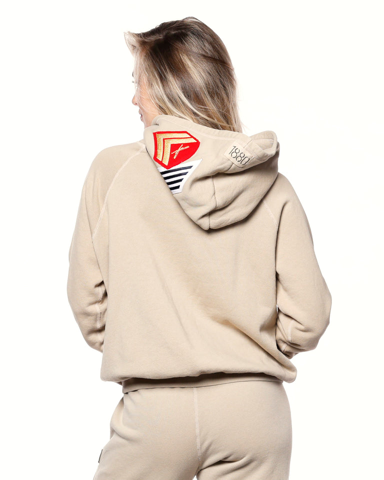 Nude All Patched Up Hoodie