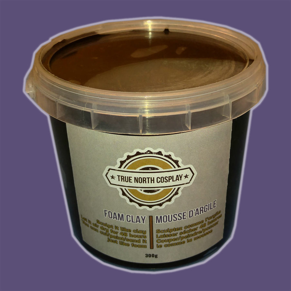 Black Foam Clay - 300g