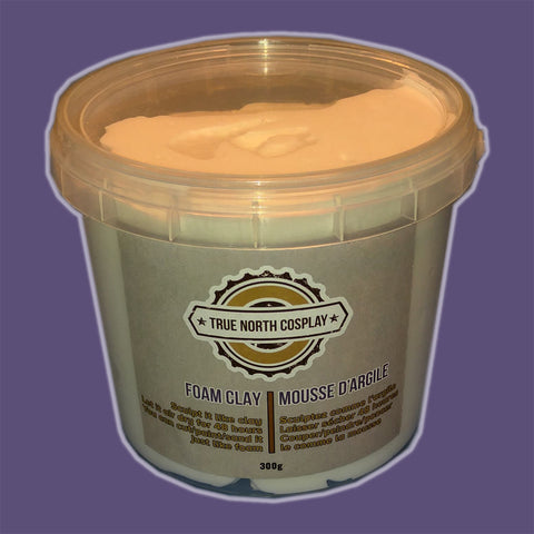 White Foam Clay - 300g