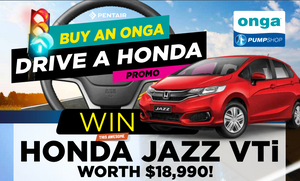 BUY AN ONGA DRIVE  A HONDA