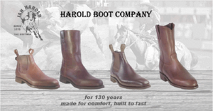 About The Harold Boot Company.