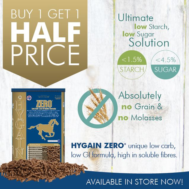 Buy 1 bag of Hygain Zero and get another bag  Hygain Zero at HALF PRICE promotion.