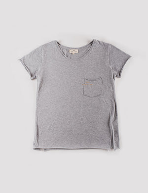 T-Shirt Essencial Woman Mescla & Gold