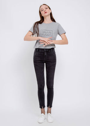 High Sun Up Jeans - black