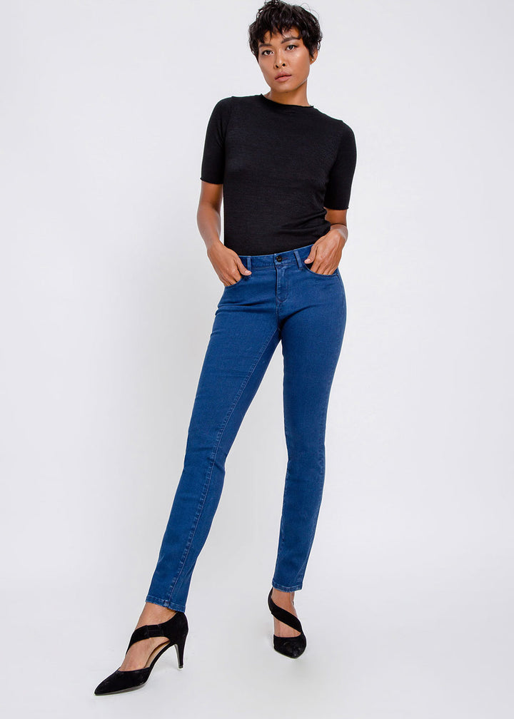 Mid Sun Jeans - electric blue