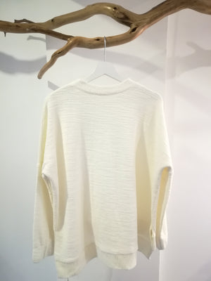 White Cotton Jumper