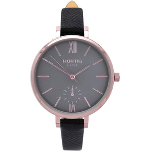 Amalfi Rose Gold-Grey-Black