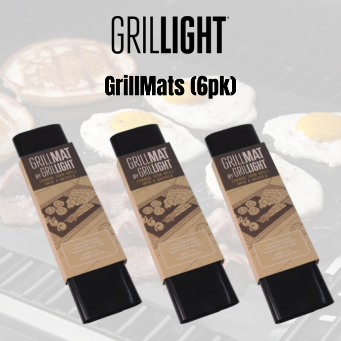 GrillMats by Grillight (6pk) - Grillight.com