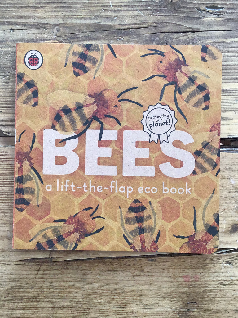 Bees: A lift-the-flap eco book