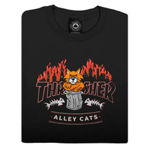 Load image into Gallery viewer, Alley Cats Black Longsleeve