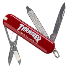 Load image into Gallery viewer, Outlined Logo Red Classic Swiss Army Knife