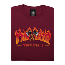 Load image into Gallery viewer, Truck 1 Maroon T-shirt