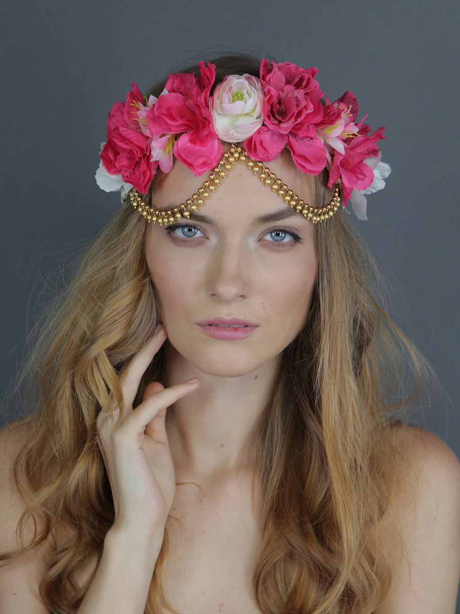 Bohemian Princess | 3 | Gold Headpiece