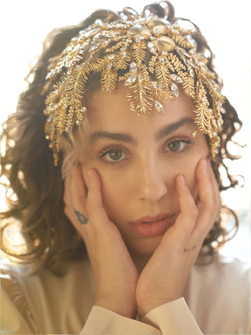 AURA X ASCIA | 1 | Gold or Silver Headpiece
