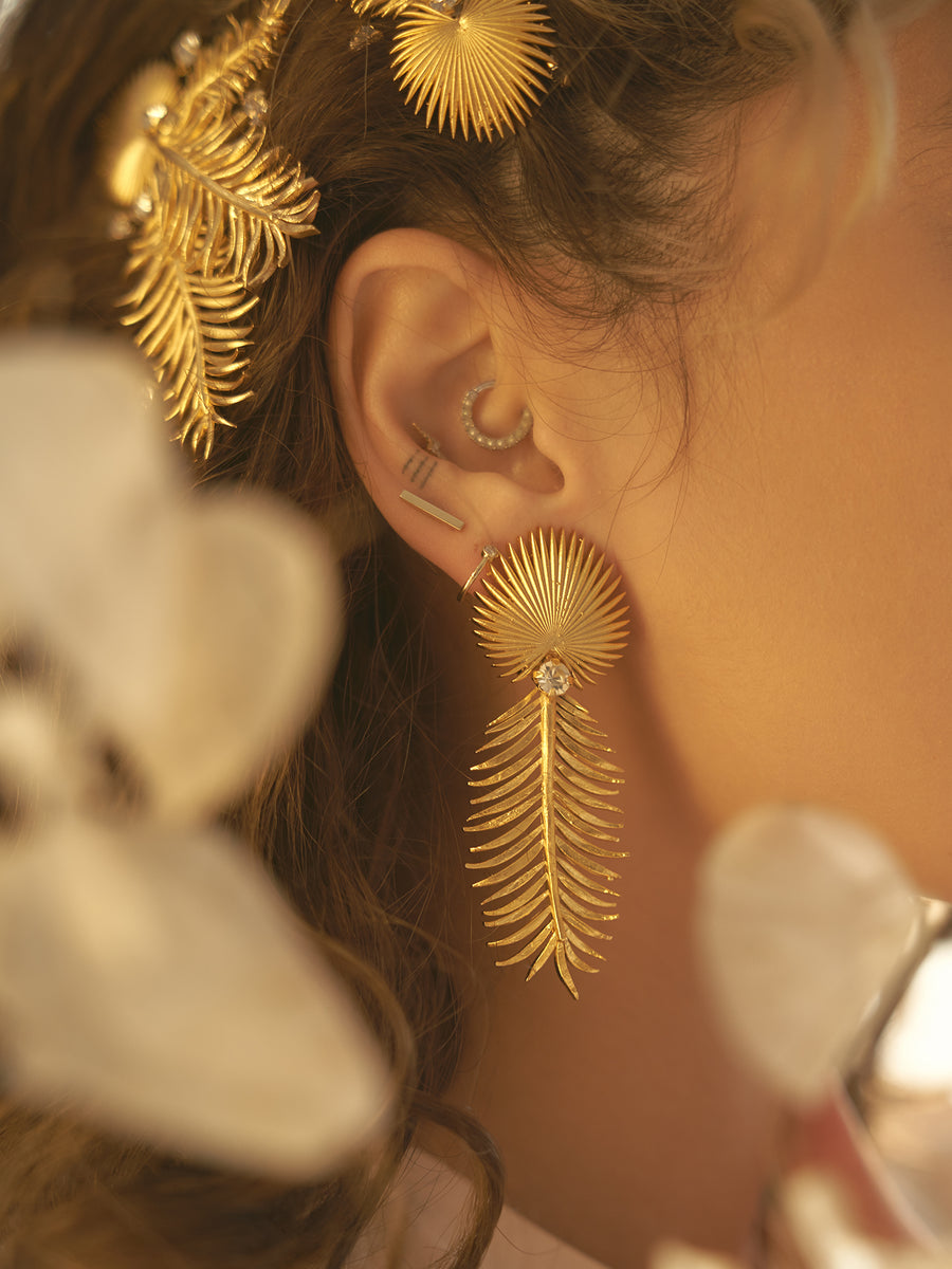 AURA X ASCIA | 11 | Gold or Silver Earrings