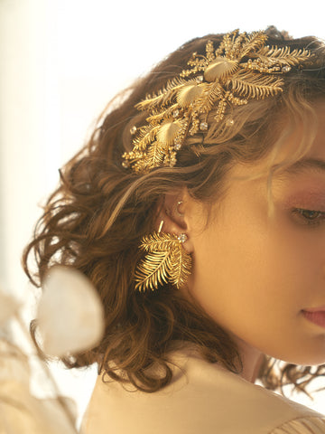 AURA X ASCIA | 10 | Gold or Silver Earrings