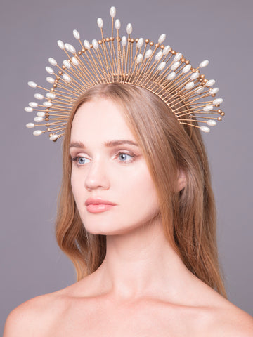 Aurea Rays | 2 | Bronze Headpiece