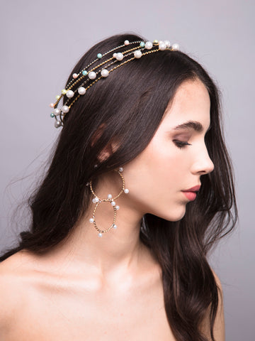Drops To Eternity | 12 | Gold or Silver Headpiece