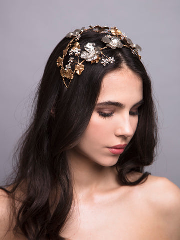 Flora Arabica | 14 | Bronze and Silver Headpiece