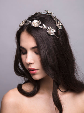 Flora Arabica | 15 | Silver Headpiece