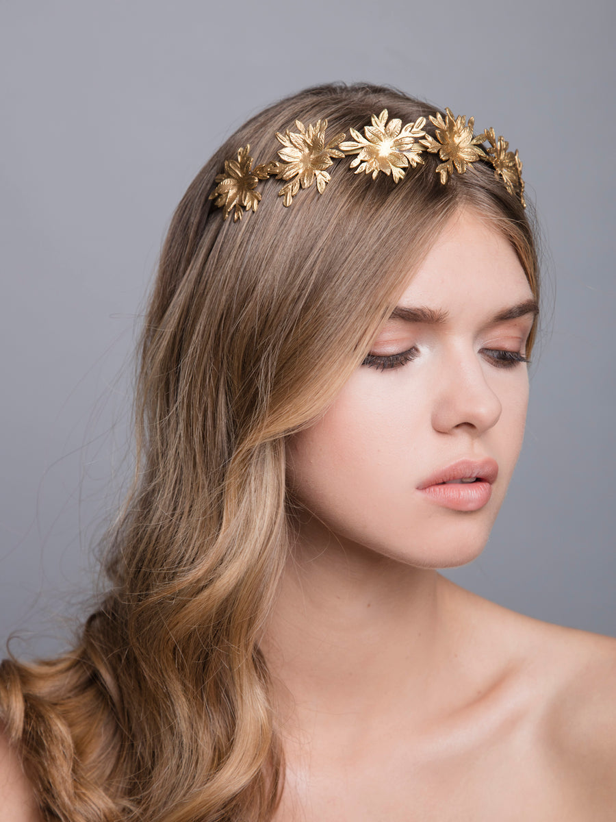 Flora Arabica | 11 | Gold or Silver Headpiece