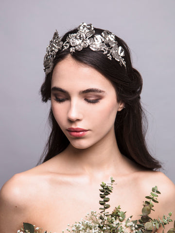 Flora Arabica | 16 | Silver Headpiece