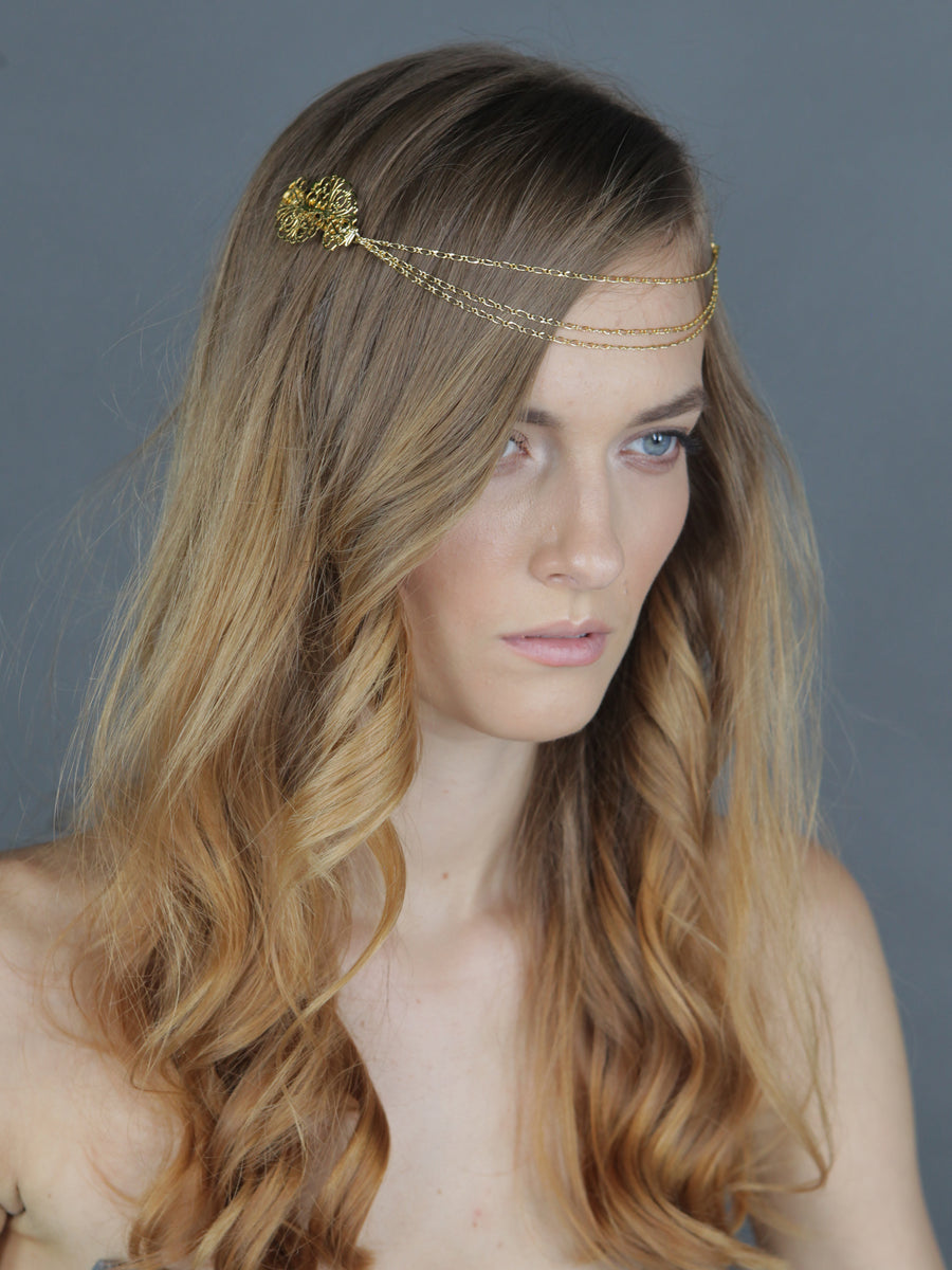 Through The Grapevine | 8 | Gold Headpiece