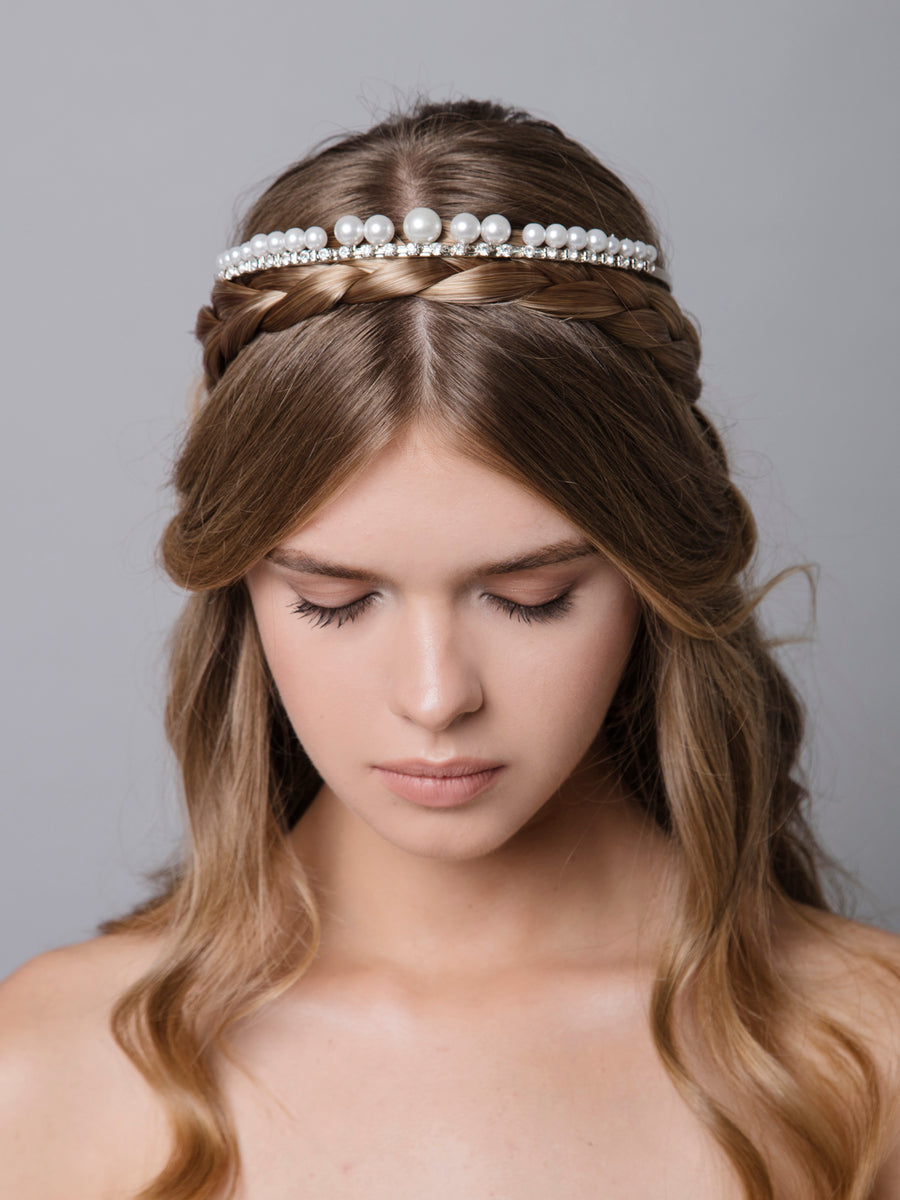 Something White | 12 | Silver Headpiece