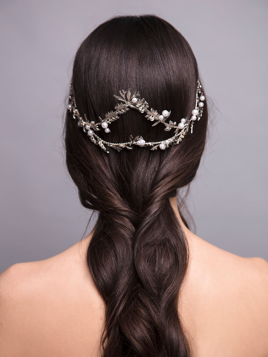 Under The Olive Tree | 15 | Silver Headpiece