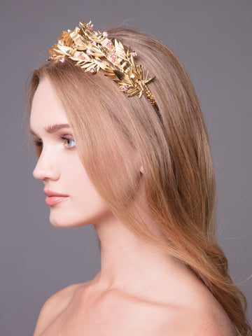 Under The Olive Tree | 10 | Gold Headpiece