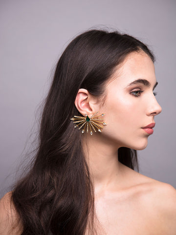 Aurea Rays | 9 | Gold Ear Cuff