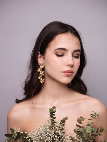 Avena Spring | 4 | Bronze Earrings
