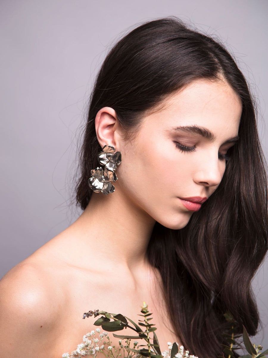 Flora Arabica | 4 | Gold or Silver Earrings