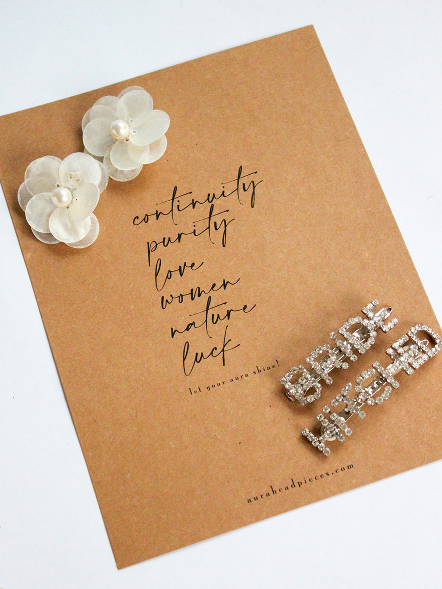 Gifts To The Bride | 1 | Silver Barrette