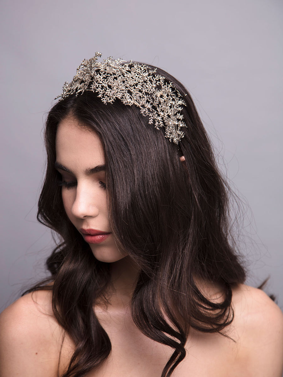 Gypsofilia | 2 | Silver Headpiece