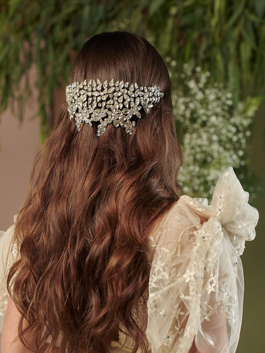 Romance In The Rain | 1 | Silver Headpiece
