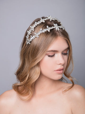 Romance In The Rain | 5 | Silver Headpiece