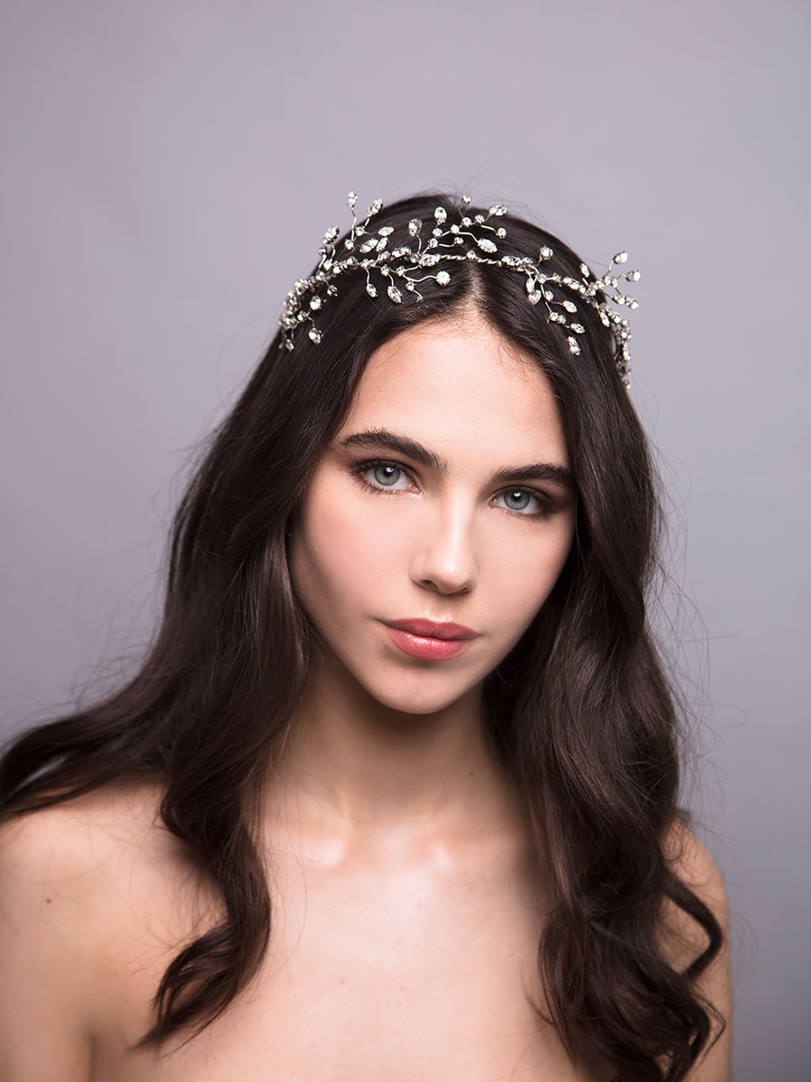 Romance In The Rain | 18 | Silver Headpiece