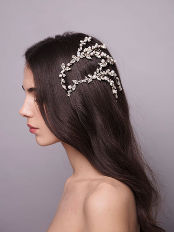 Romance In The Rain | 19 | Silver Headpiece