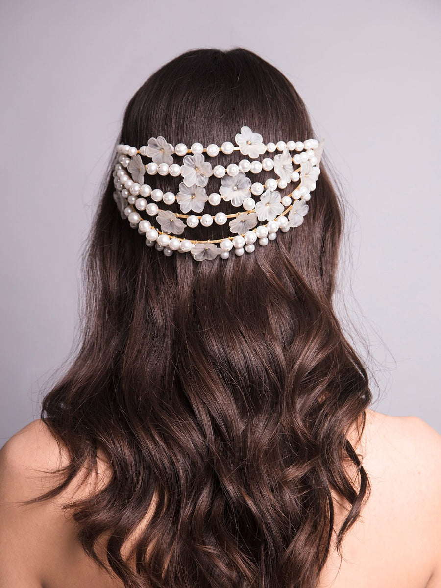 Something White | 2 | Gold Headpiece